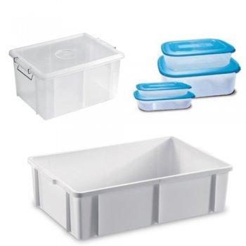 Contenitori plastica polietilene policarbonato per cucina