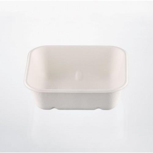 Vaschetta mono patatine quadra ecokay cm.14x12,5 pz.50 isap