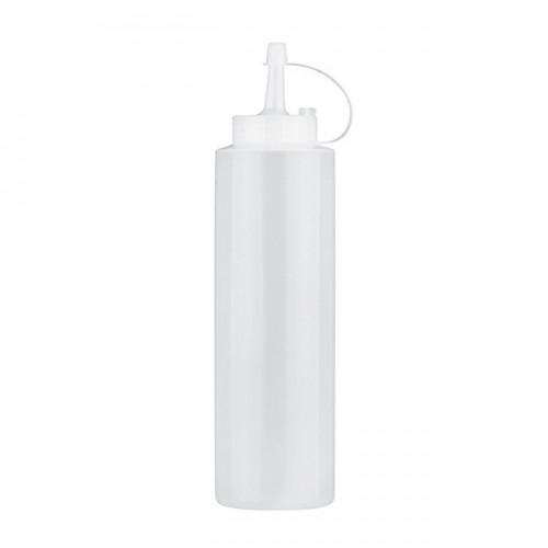 Dosatore squeezy cl.36 trasparente con tappo