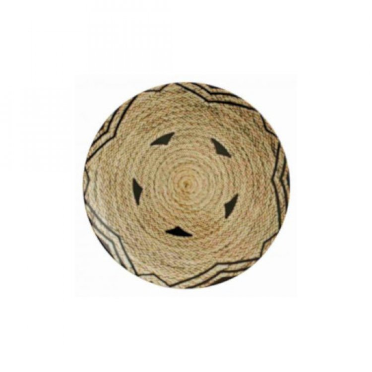 Piatto frutta tribal mood cm.20 decoro c arthur krupp