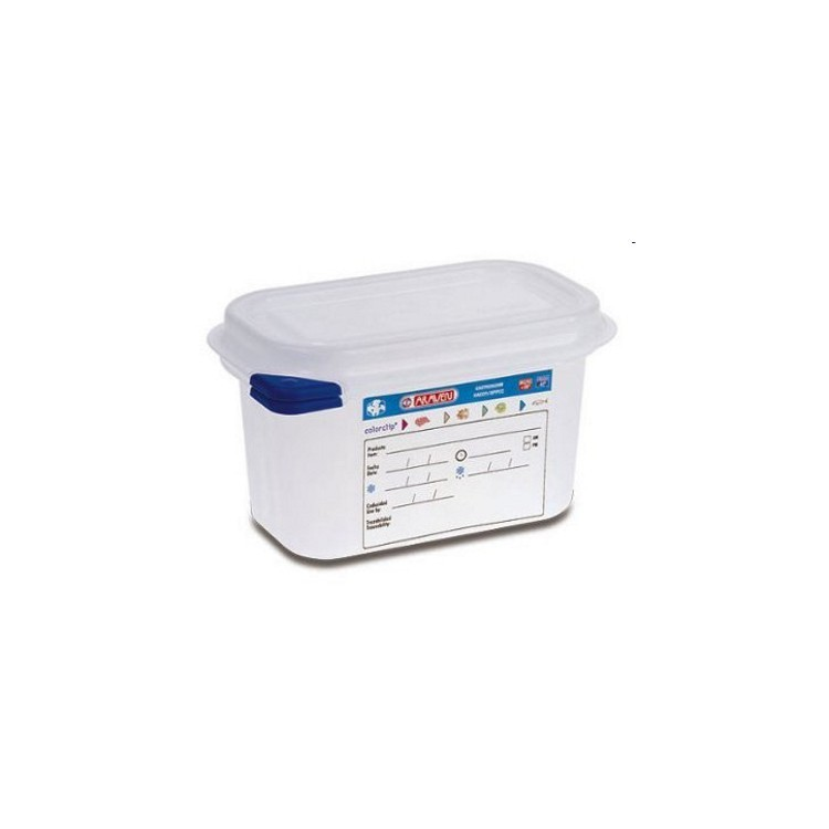 Contenitore polipropilene 1/9 h.10 con coperchio araven