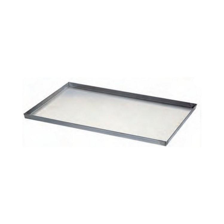 Teglia alluminio saldata cm.60x40 h.2