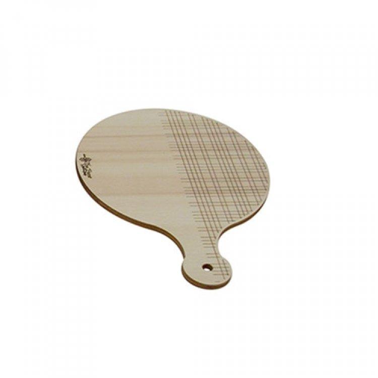 Tagliere legno monoporzione rotondo Ø cm.12,5 the bars