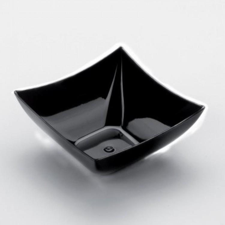 Finger coppa mono quadra cm.7x7x3 cc.90 pz.25 nera