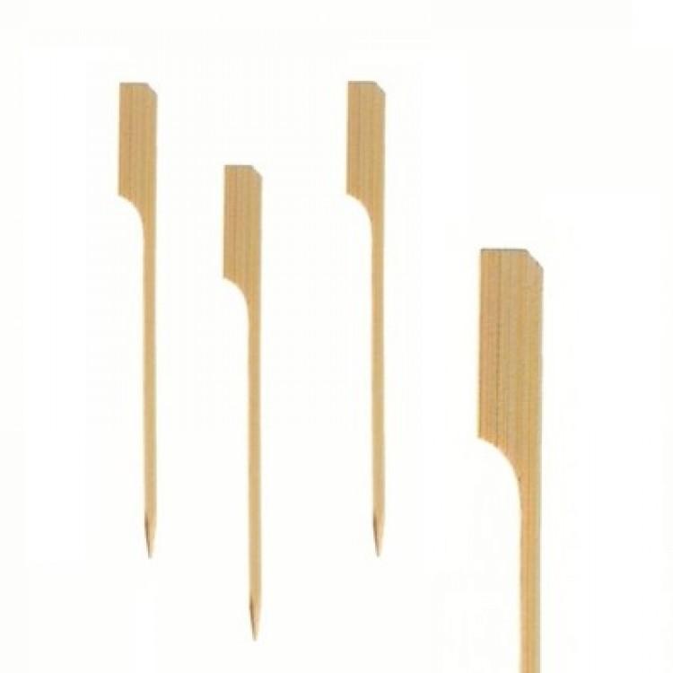 Spiedino bamboo paletta golf cm.18 250 pz.