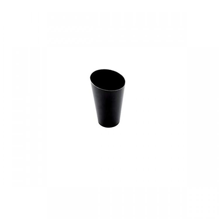Finger bicchierino mono conico alto cc.70 5x7,5 pz.25 nero