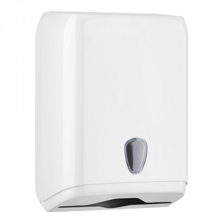 Dispenser asciugamani piegati bianco 28x14x38 a/592