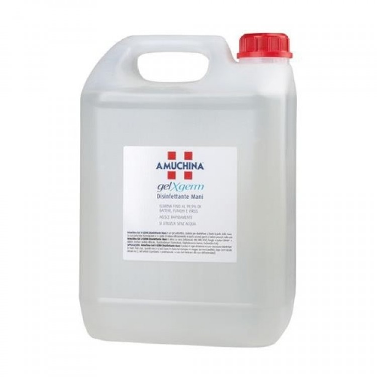 Gel igienizzante mani x-germ lt.5 amuchina