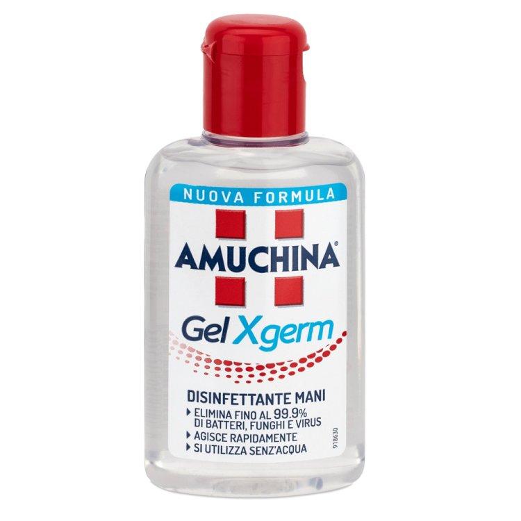 Gel igienizzante mani x-germ ml.80 amuchina