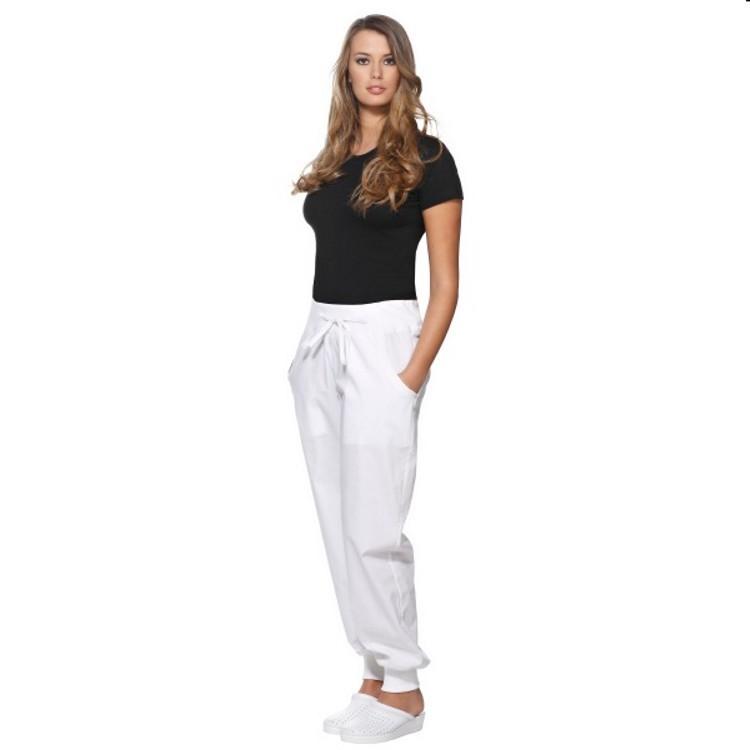 Pantalone donna monika bianco ***
