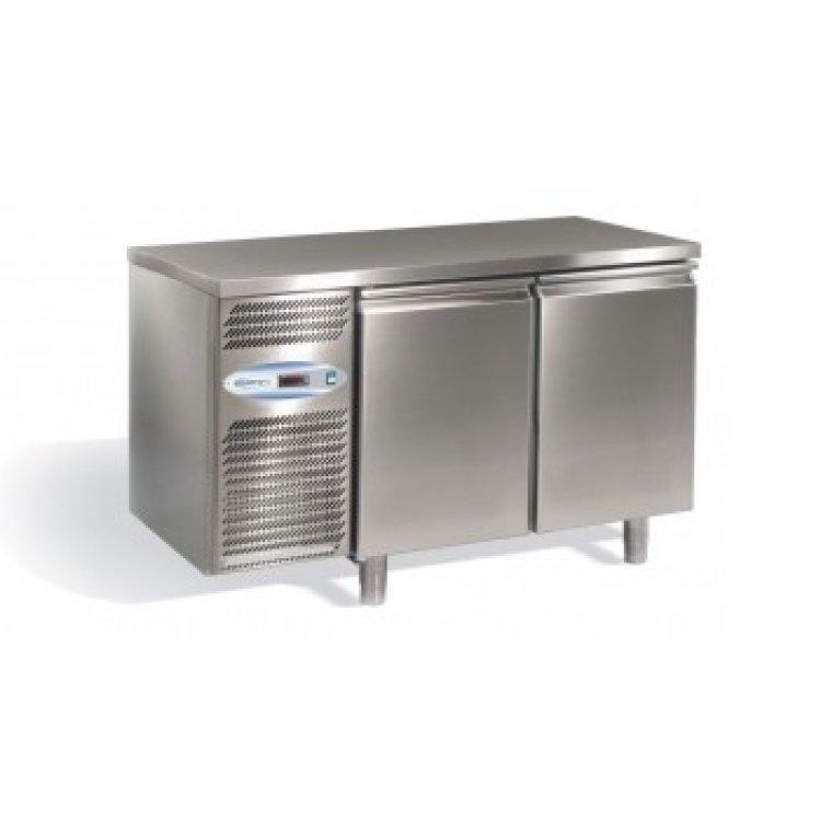 frigo tavolo inox 2 porte 0 8. Black Bedroom Furniture Sets. Home Design Ideas